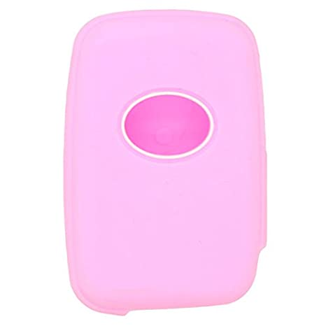 SEGADEN Silicone Cover Protector Case Skin Jacket fit for TOYOTA 3 Button Smart Remote Key Fob CV2403 Yellow