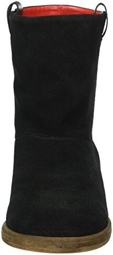 9998 Donna Nero Stivali Liebeskind Black Arricciati ninja Berlin Ls0124 Crosta 7OwqFZz