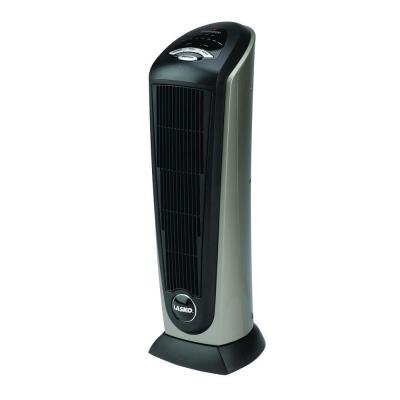 23 In. 1500-watt Programmable Thermostat Electric Portable Ceramic Tower Heater with Remote Control, Designed for Quiet Operation by Lasko