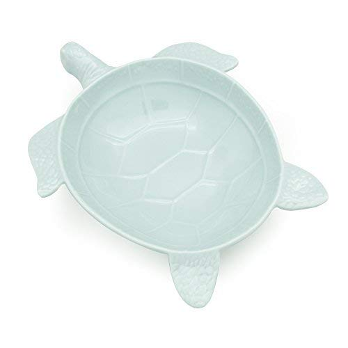 TP up! Lovely Gift Durable Sea Turtle Shaped Plastic Melamine Bowls, Plate, Chip Resistant BPA Free Easy Clean Party Favors Supplies, Assorted Color (10.0