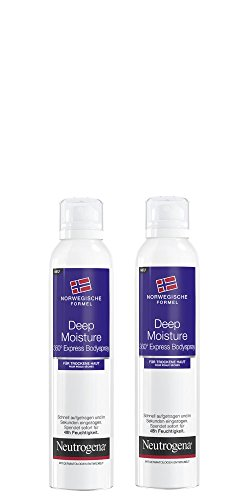 Neutrogena Deep Moisture Express Bodylotion Spray, 2 x 200 ml