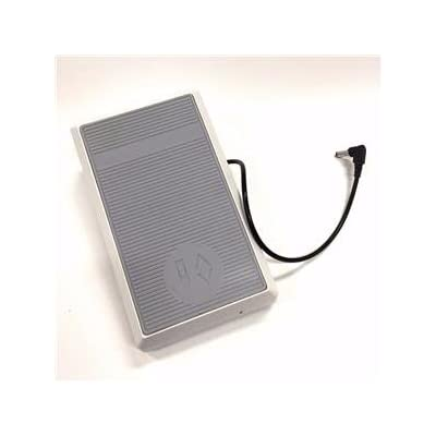 Image of Attachments Foot Control Pedal W/Cord #0079887001 For Bernina Sewing Machines