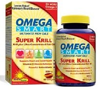Omega Super Smart Krill - 60 - Softgel