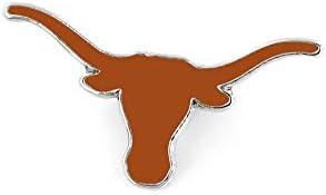 Amazon Com Ncaa Texas Longhorns Team Logo Pin Sports Related Pins Sports Outdoors