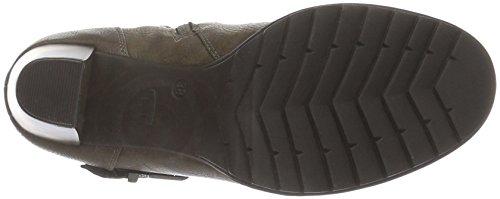 Tom Tailor 1690404, Botines para Mujer Marrón - marrón (taupe)