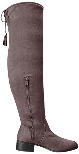 Madden Girl PRISSLEY, Fashion Stiefel Frauen, Geschlossener Zeh Grey