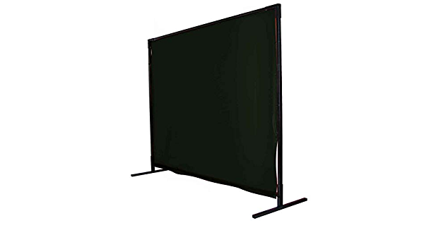 Black Stallion 6X6V1-SH8 6x6 ft Shade 8 Saf-Vu Welding Screen Only