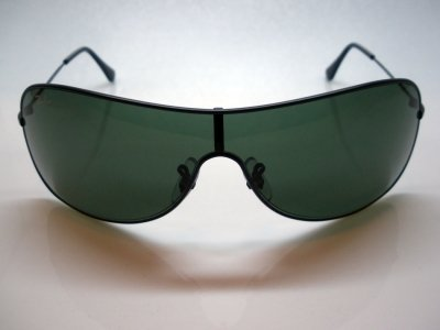Lunettes de soleil ray ban masque large modele mixte protection 100% uv 400  indice 3 530fc471b3db