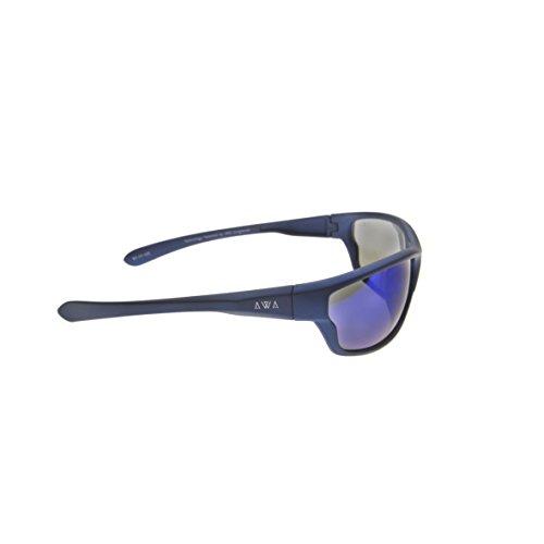 Lunettes de M Homme soleil Sunglasses Bleu AWA H50qEE