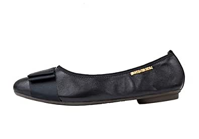 Morena Morena Black Ballerina For Women