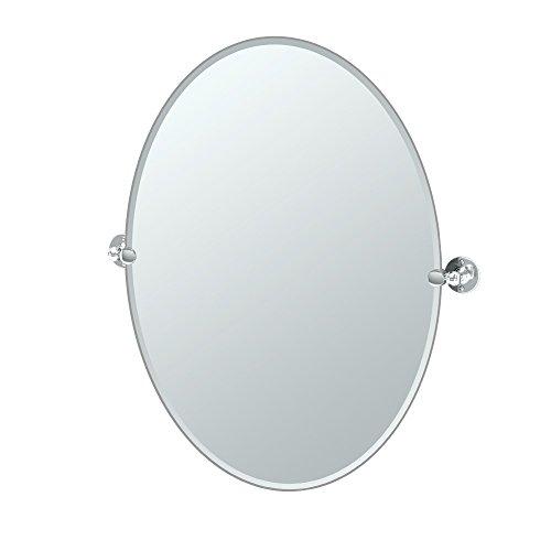Gatco 4419LG Cafe Oval Mirror, -