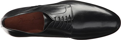 Massimo Matteo Mens 5-Eye Plain Toe Blucher Black big discount online official cheap online L3PtkAE7g