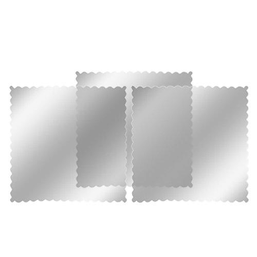 uxcell 3 pcs Car Window Signal Clear Cling Static Sticker New