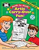 img - for Month-by-Month Artic Carry-Over Fun! with printable CD (Super Duper Publications) book / textbook / text book