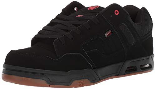 DVS Men's Enduro HEIR Skate Shoe red Gum New Black, 10.5 Medium US