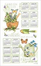 Kay Dee Linens (2018 Garden Rules Susan Winget Linen Calendar Towel (F3347))