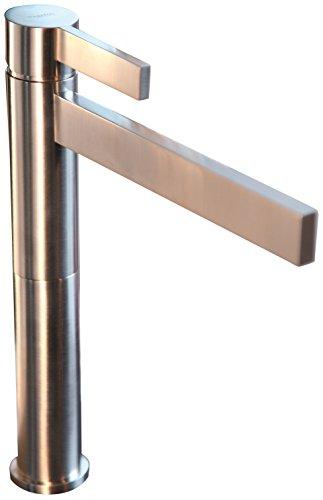 MaestroBath FAU-016-PNI Bathroom Faucet with Height Extension, Polished Nickel by MaestroBath (Image #1)