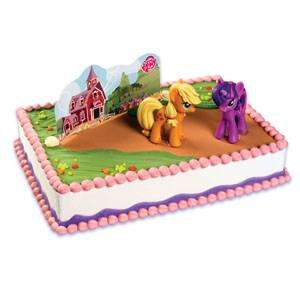 Amazoncom My Little Pony Cake Kit Toys Games