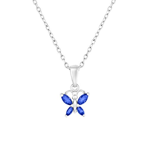 Childrens Butterfly Necklace - 4