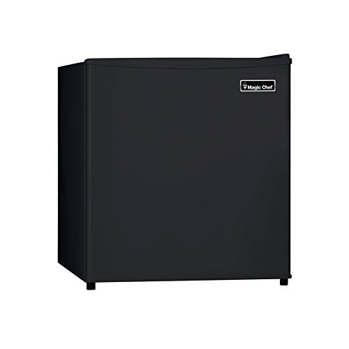 Magic Chef MCBR160B2 Refrigerator, 1.6 cu.ft., Black