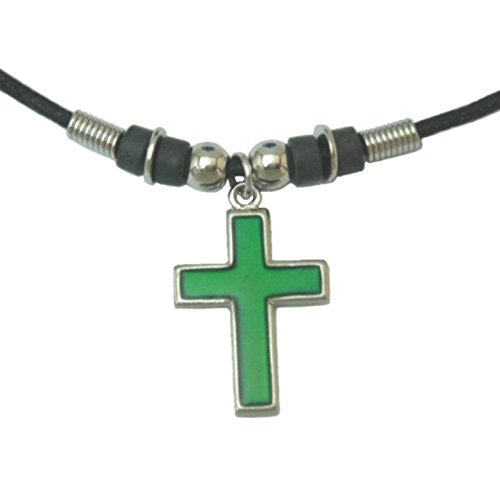 Collection Cross Necklace - Tapp Collections trade; Mood Pendant Necklace - Cross
