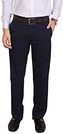 Particle Men's Regular Fit Formal Trousers (Waist Sizes 30 – 44)