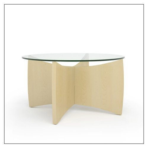 Steelcase Alight Coffee Table by Turnstone by Steelcase, veneer color = Clear Maple ()