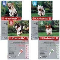 Advantix II 4-Month Dogs 1-10Lbs (Green) @