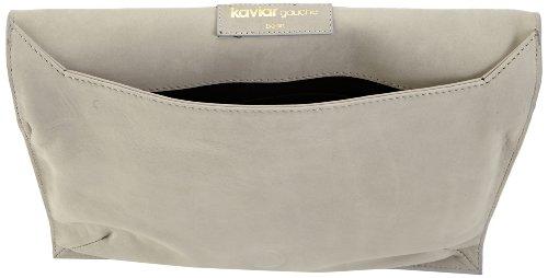 kaviar gauche - Lasercut Clutch /Acryl, Stringate Donna Grigio (Grau (Grey/Gold)