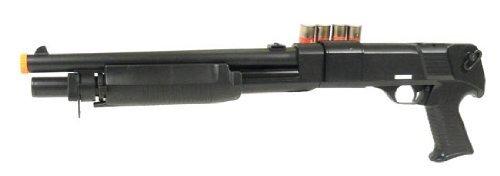 spring m183a1 tactical pump action shotgun fps-380 airsoft gun(Airsoft Gun) by Gold Arrows