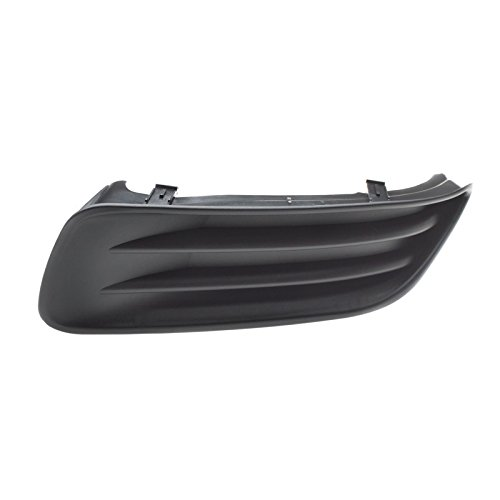 CarPartsDepot 03 04 Toyota Corolla CE Fog Lamp Opening Cover TO1038103 Bumper Side Grille Left