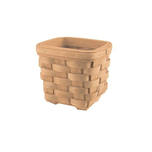 CWI Gifts 2-Piece Country Floral Square Basket Set, 4.5 by 5-Inch