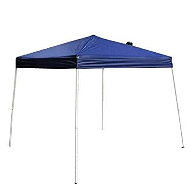 HappyShopShop Portable Folding Waterproof Tent Canopy Shelter Sun Shade Blue Outdoor Picnic Event Ceremony 2.5 X 2.5 M: Sports & Outdoors