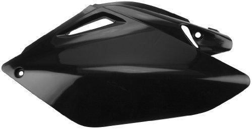 Cycra Side Number Panel Black for Honda CRF450 CRF 450 2007-2008 - 2007 Crf 450 Plastics