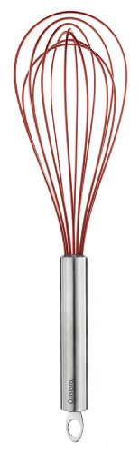 Cuisipro Silicone Piano Whisk Red