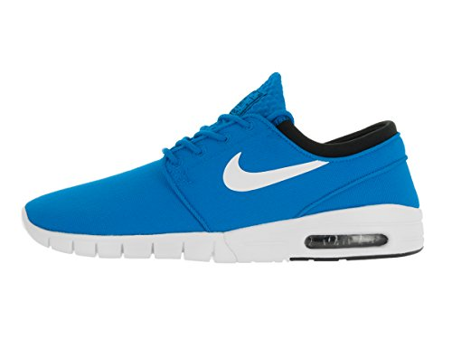 Nike Stefan Janoski Max, Zapatillas de Skateboarding para Hombre Azul (Photo Blue / White-Black)