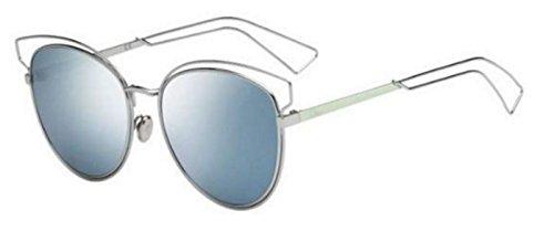 New Christian Dior SIDERAL 2 JA6/T7 Aqua/Blue Mirrored - Dior 2 Sideral