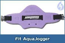 Aqua Jogger Fit Belt for Women - Purple (Water Jogger)