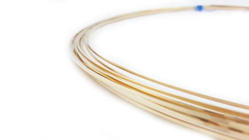 20 Gauge, 14/20 Gold Filled Wire, Square, Dead Soft - 5FT from Craft Wire