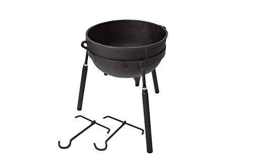 7 gallon cast iron pot - 1