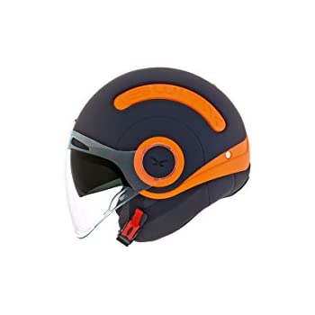 Nexx SX.10 Orange/Black Motorcycle Helmet (Small)