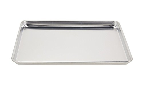 Vollrath 5303 Sheet Pan, 1/2 size, Aluminum, 18-Inch x 13-Inch x 1-Inch (12-pack) by Vollrath