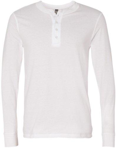 Tela a manica lunga t-shirt. 3150–XL–bianco