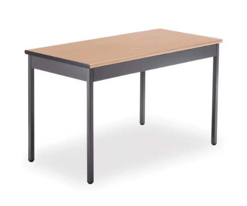 OFM UT2448-MPL Utility Table, 24 by 48-Inch, Maple