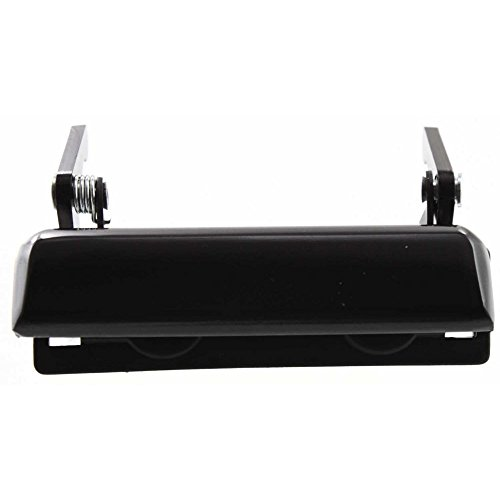 Tailgate Handle compatible with F-150/F-250 92-96/Mazda Pickup 94-10 Smooth Black Plastic ()