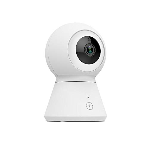 1080P Dome Security Camera, Indoor Home IP Camera, Privacy Mode, Two-Way Audio, Night Vision, Sound and Motion Detection, and Pan Tilt as Pet Cam with 7 Day Free Cloud via YI IoT APP 6s Alert