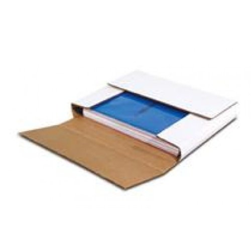 50 LP Record Book Box Mailers & 50 Corrugated Insert (Corrugated Stiffener Pads)