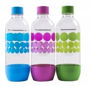 Original Sodastream Carbonating Bottle Three Pack  1 Liter