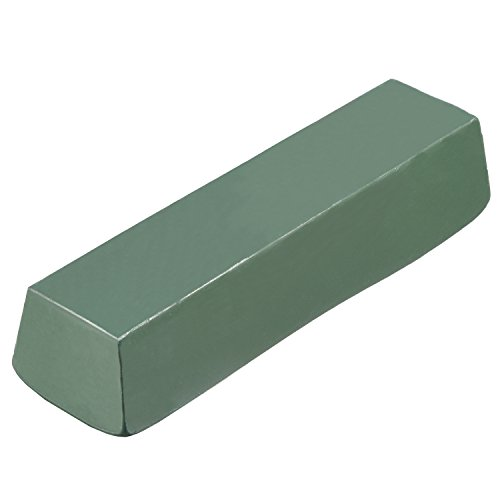 Hestya 1.1 Pound Buffing Compound Polishing Paste Abrasive Buffing Compound Bar for Metal Jade Glass Polishing, Green (Metal Jade)