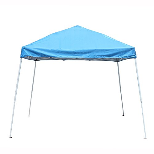 ALEKO GZP202BL 8 x 8 Easy Pop Up Outdoor Collapsible Gazebo Canopy Tent, Blue color